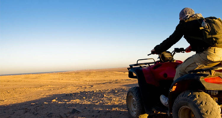 Enjoy a beach-buggy ride in the desert for 2 Hours